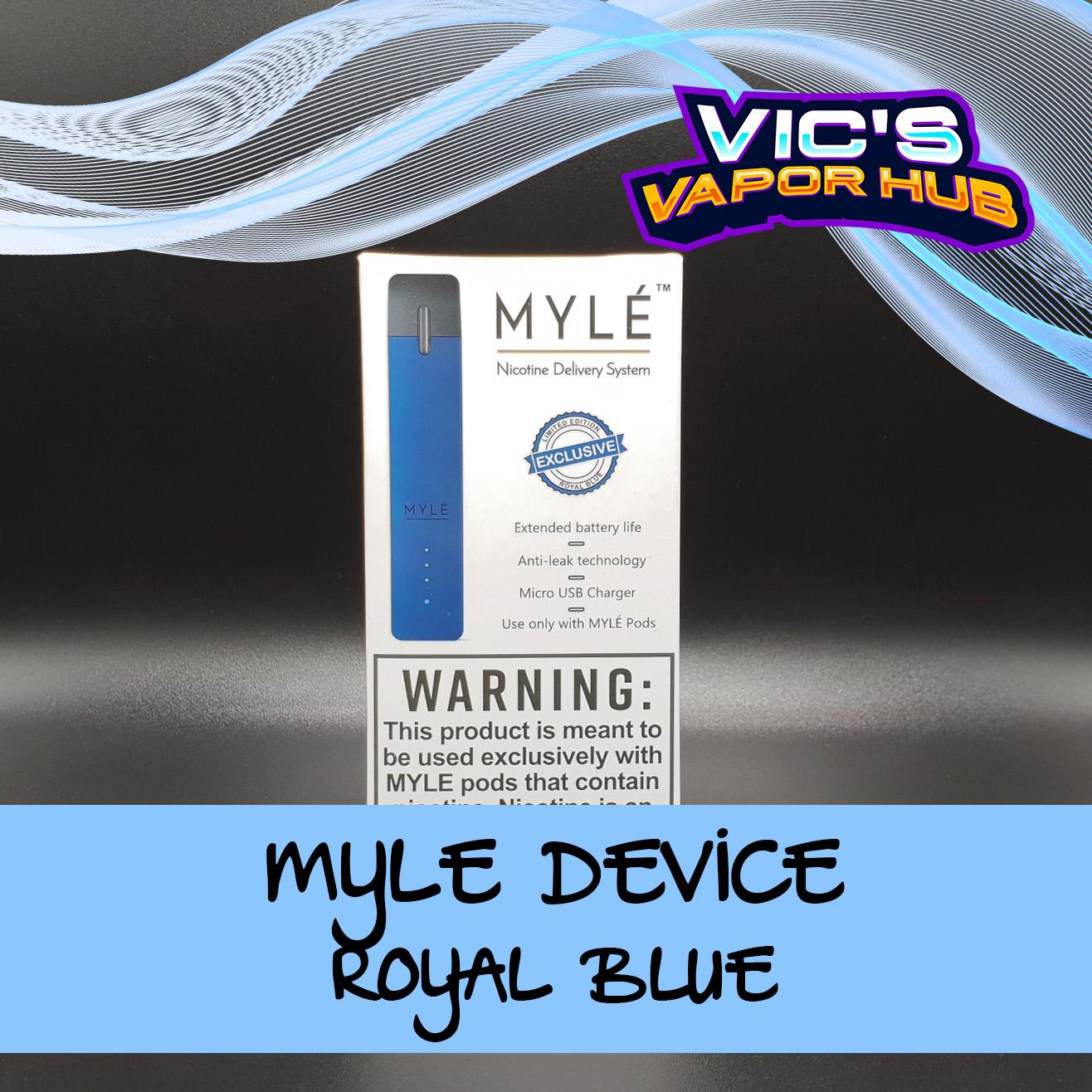 Myle Device (Nic Delivery System)
