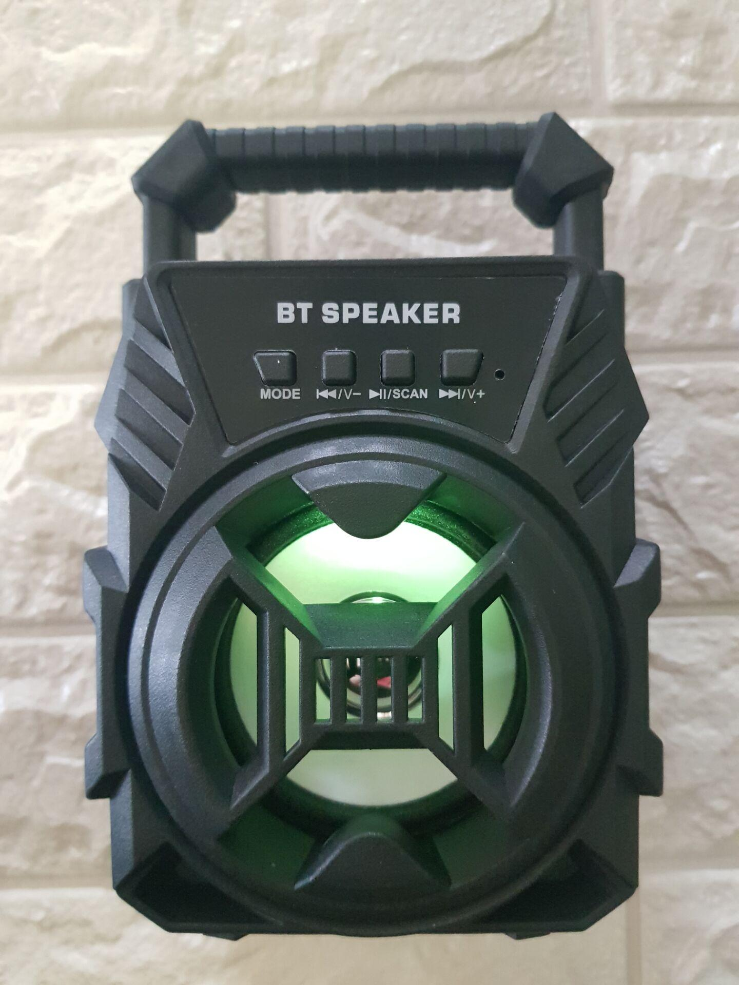 Super Bass Wireless Bluetooth Speaker With LED Light