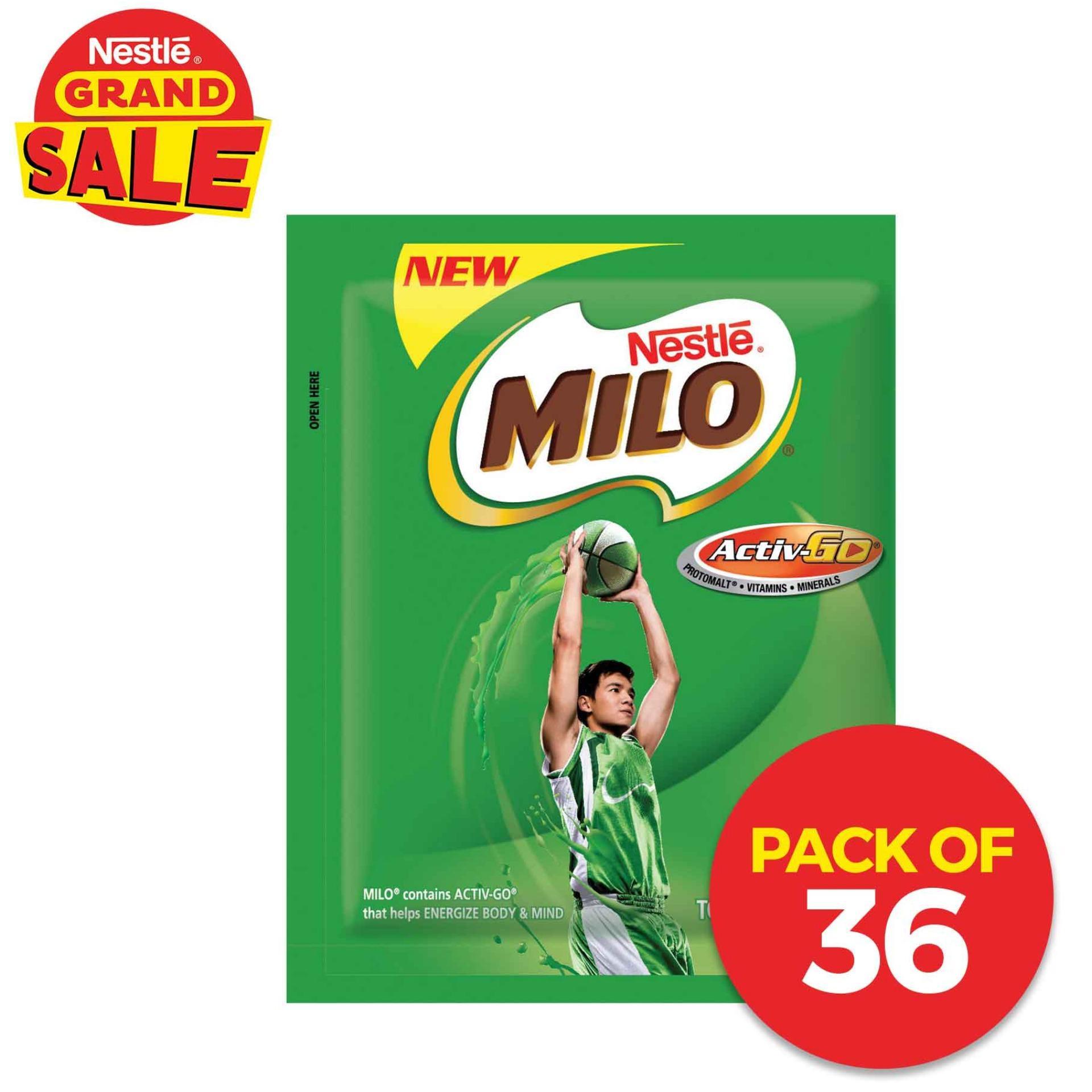 MILO ACTIV-GO Champion 22g (Pack of 36)