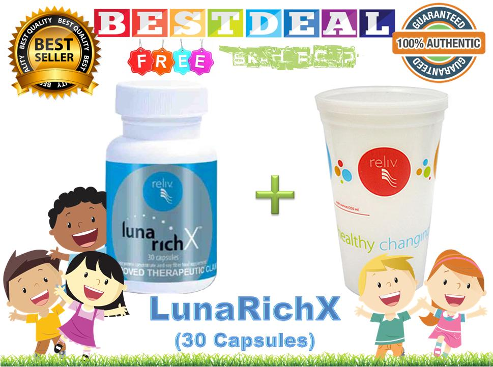 Lunarichx (30 Capsules) 100% Authentic By Bestdeal O-Shopping.