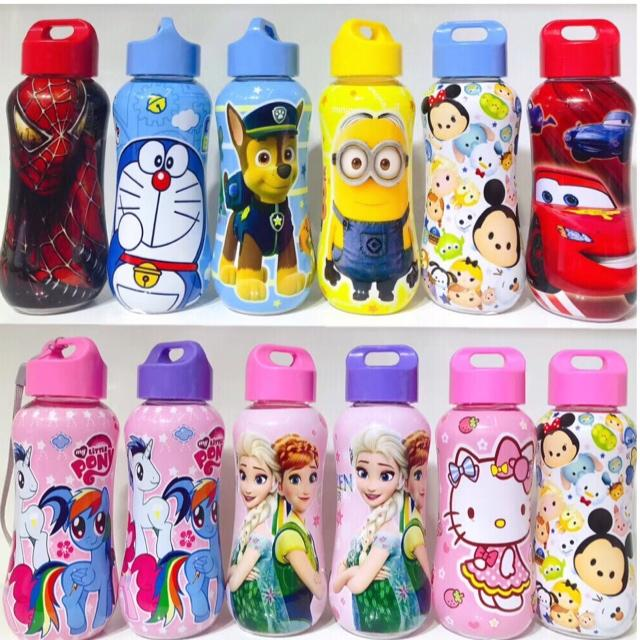 Cartoon Character Tumbler For Kids Birthday Giveaway