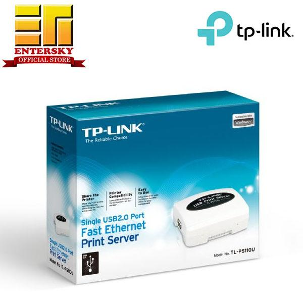 Tp-Link TL-PS110U Single USB2 0 Port Fast Ethernet Print Server