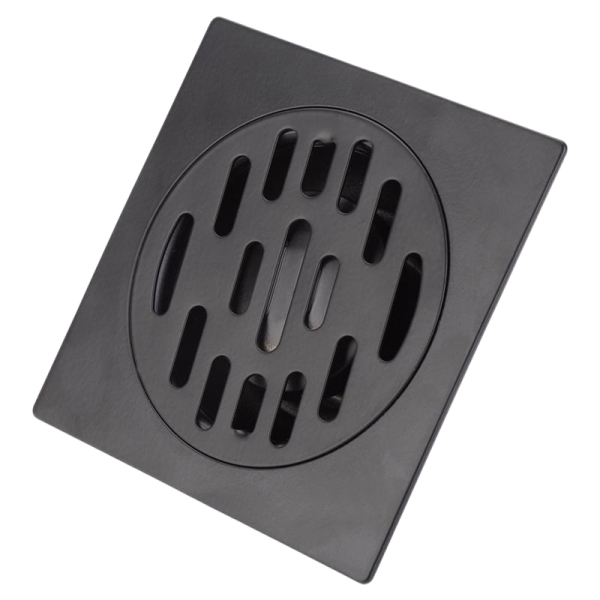 Stainless Steel Floor Drain Heavy Duty Floor Drain Cover Home Bathroom Shower Waste Drainer Thickened Waste Floor Drain Black 1#