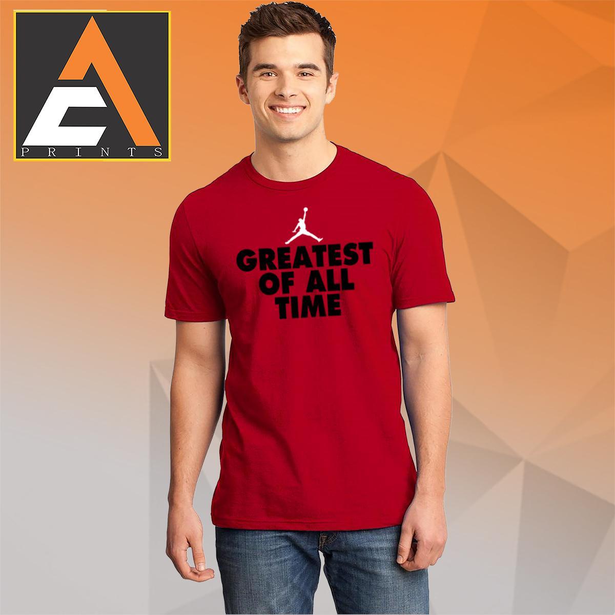 65734e51bbf9e4 Jordan shirt Michael Jordan shirt Basketball tshirt Basketball shirt  GREATEST OF ALL TIME Shirt Unisex(