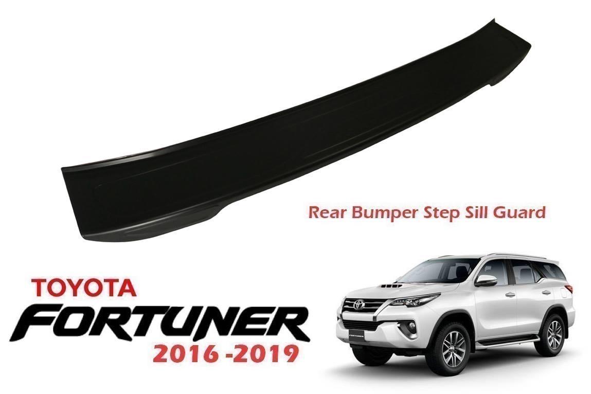 Toyota Fortuner 2016-2019 Rear Bumper Step Sill Guard By Macchina Da Corsa..