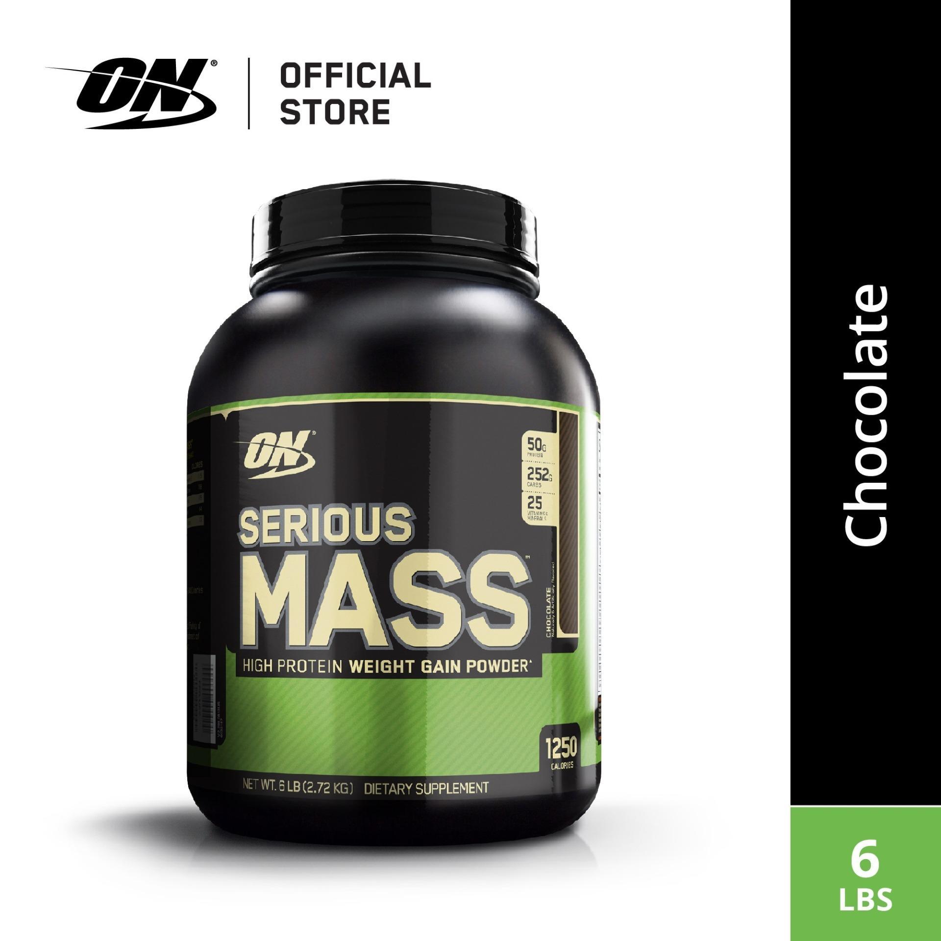 caa0fb74b Optimum Nutrition Serious Mass Gainer 6 lbs - Chocolate