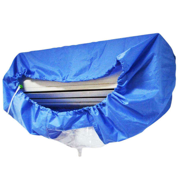 Air Conditioning Cover Washing Wall Mounted Air Conditioner Cleaning Protective Dust Cover Clean Tool Tightening Belt for 1-3P-M