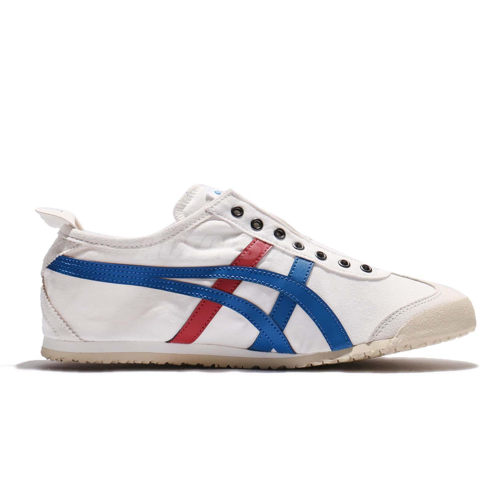 new arrival f2f83 c6813 Onitsuka Tiger Men shoes Mexico 66 Slip-on White TH1B2N0143 RHK