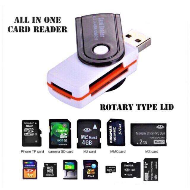 [superstorm] 4 In 1 Usb 3.0 Card Reader Micro Sd Sdhc Tf Mmc M2 Ms Usb 2.0 Cardreader By Superstorm.