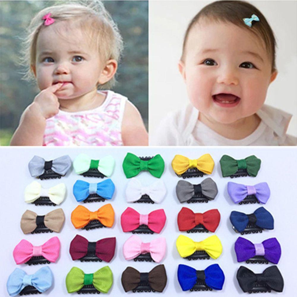 Accessories Newborn Girl/'s Fashion Mini Hair Clip Headwear Bow Baby Hairpin
