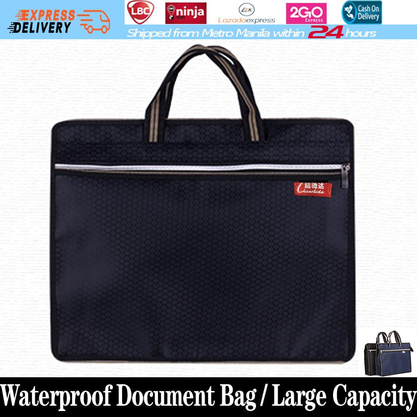 e142352825 Large Capacity Waterproof Document Bag Hand-held Zipper Oxford Cloth File  Bag Cross Section Of