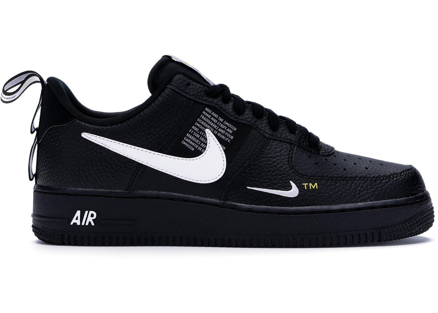 Nike Air Force 1 Utility Black Fashion