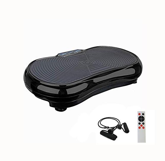 Happy Choice Fitness Vibration Platform - Whole Body Vibration Machine Crazy Fit Vibration Plate With Remote Control & Resistance Bands By Happy Choice