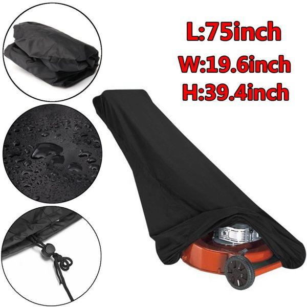 YESMILE Outdoor/Indoor Dustproof Oxford Cloth Rain Proof Storage Bag Lawn Mower Cover Waterproof Anti-UV Protector