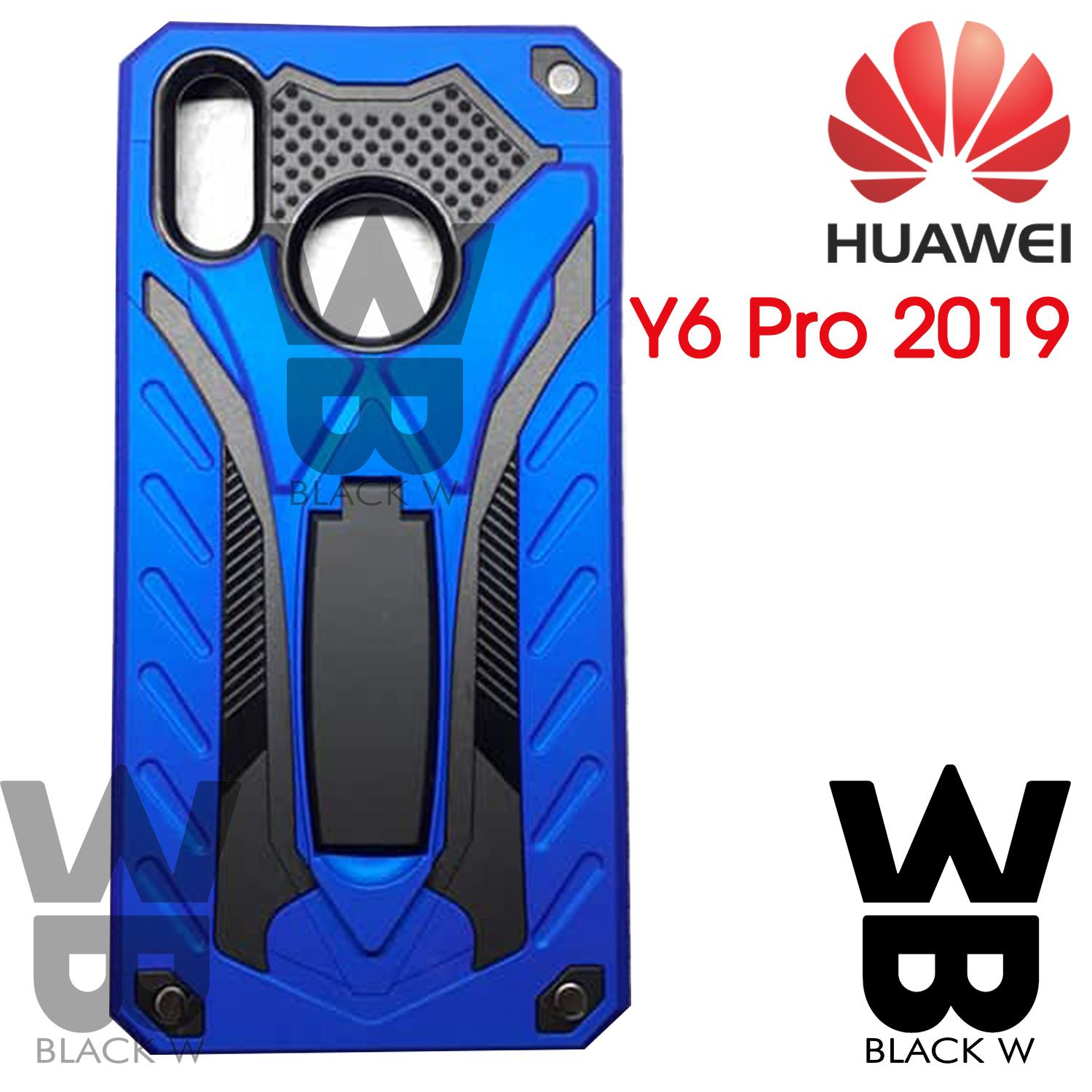 Huawei Y6 PRO 2019 Robot Armor Case with Stand Shockproof Case