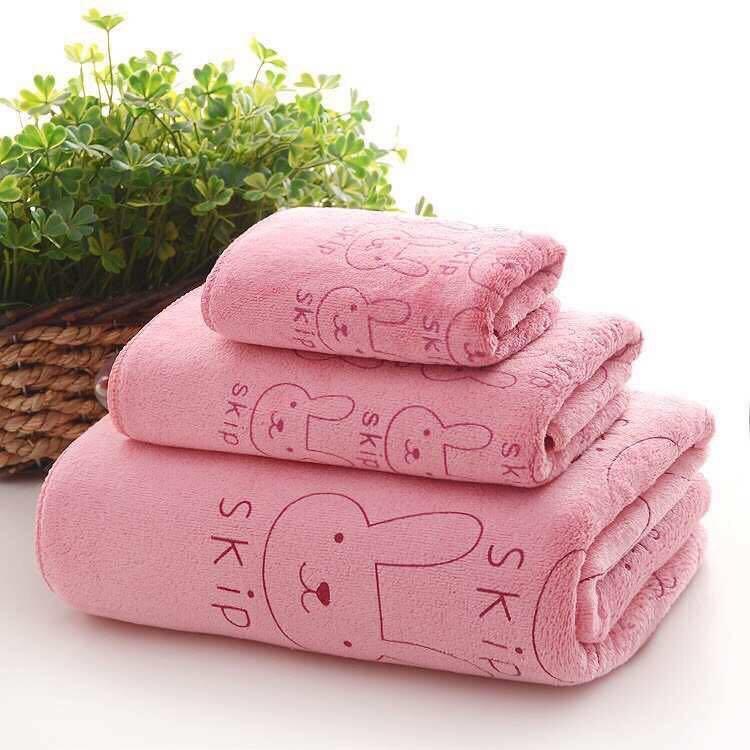 3in1 Microfiber Bath Towel Soft Towel Wearable Towel