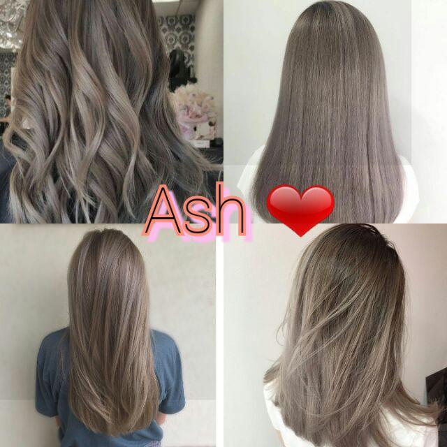 Ash Haircolor Authentic With Free Oxidizing By Superstar_777.