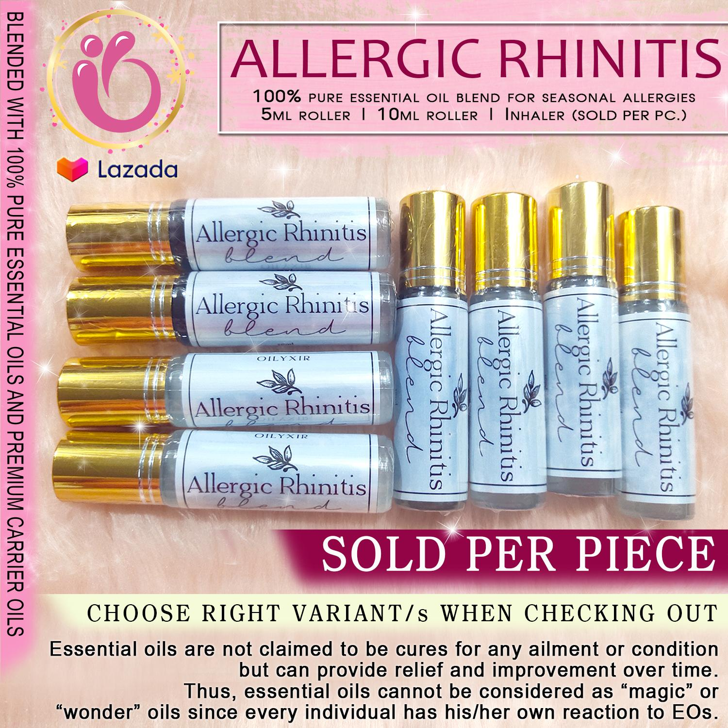 Oilyxir Allergic Rhinitis Ready To Use Essential Oil Roller Inhaler For Kids And Adults Plant Therapy Eden S Garden Now Pure Essentials Oils No More Bahing Pollen Threats Allergies Sold Per