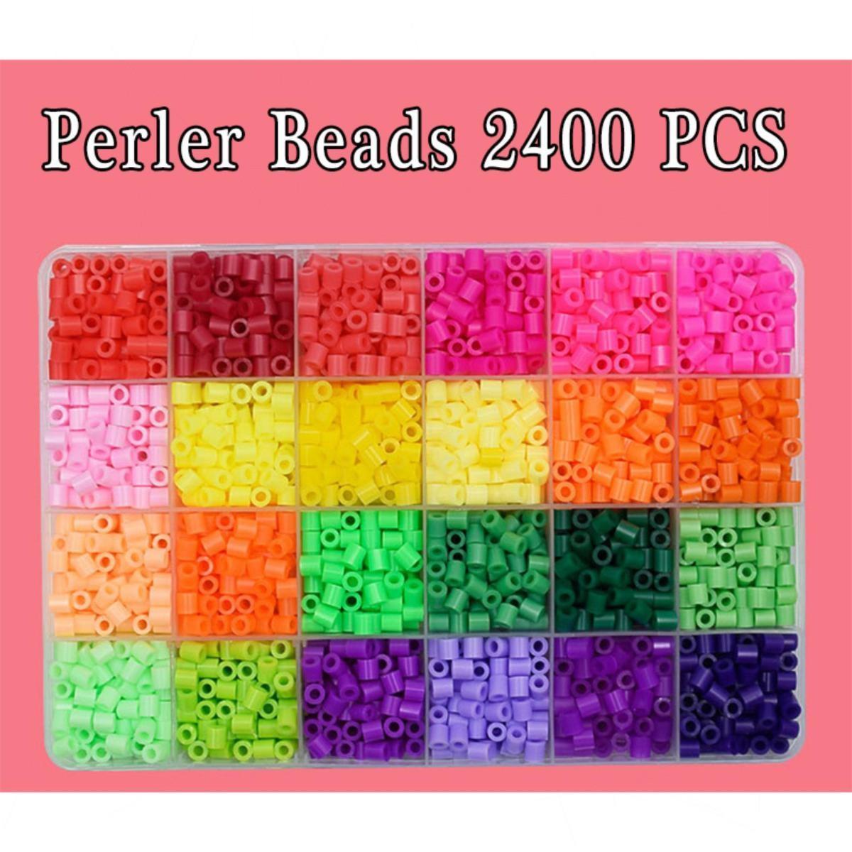 Perler Beads Fused Bead Kit 2400 Beads Craft Beads For Kids By Tcgbhvkog.