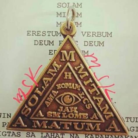 Mahiwagang Medalya : Trespicos A.m.a By Talisman Amulets And Esoteric Book Shop.