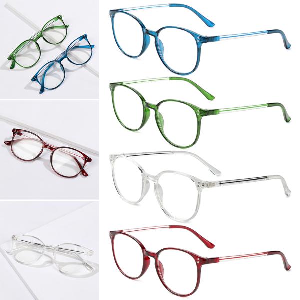 Giá bán zbrtdr Kính đọc sách Unisex Kính viễn thị di động Kính mắt cổ điển Chăm sóc thị lực + 1.00 ~ + 4.00