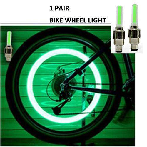 Wheel Lights LED Wheel Spoke Valve Cap Bike Accessories Cycling Bike Bicycle