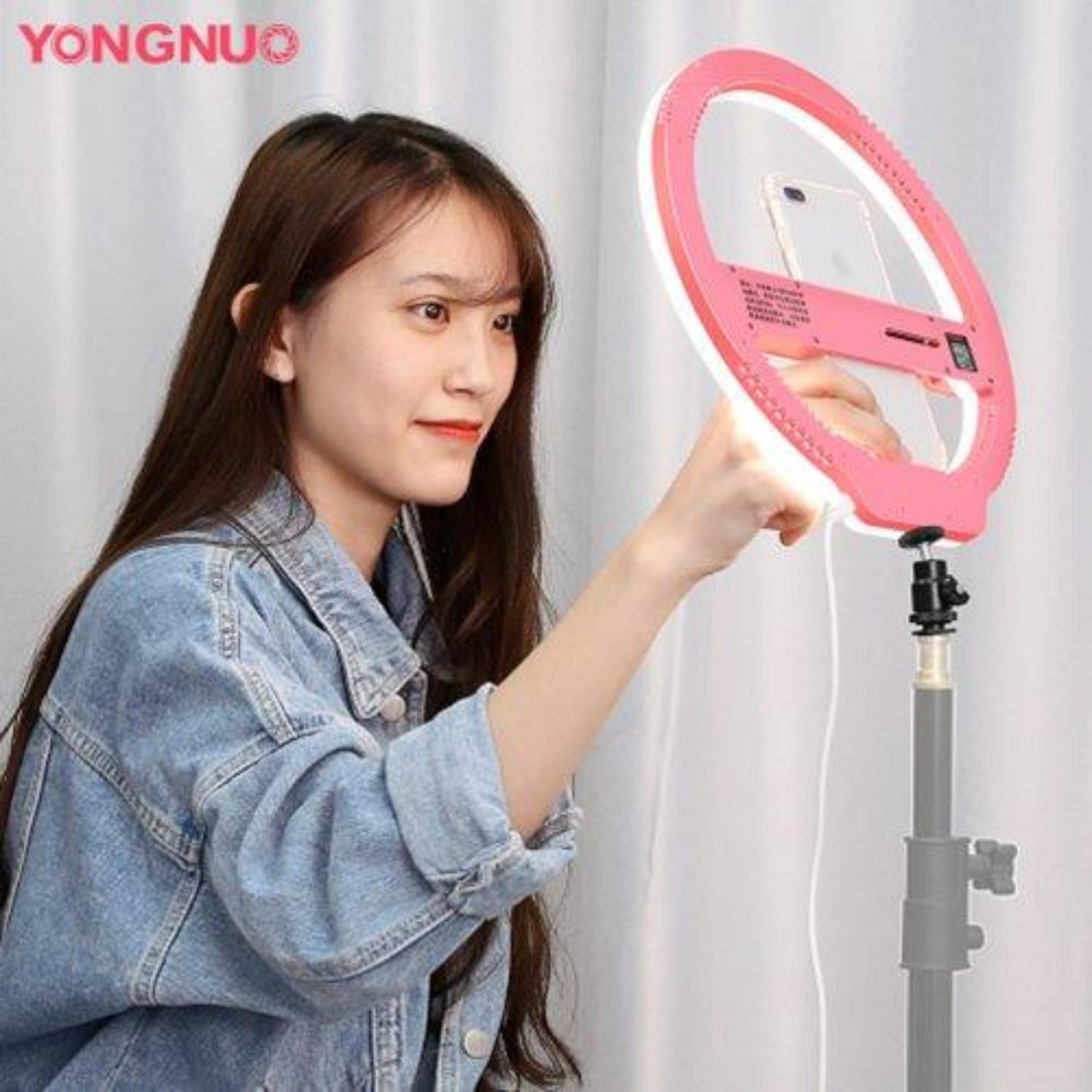 YONGNUO YN128 Selfie LED Ring Light for Youtuber Blogger Video iPhone Samsung etc Cellphones Cameras