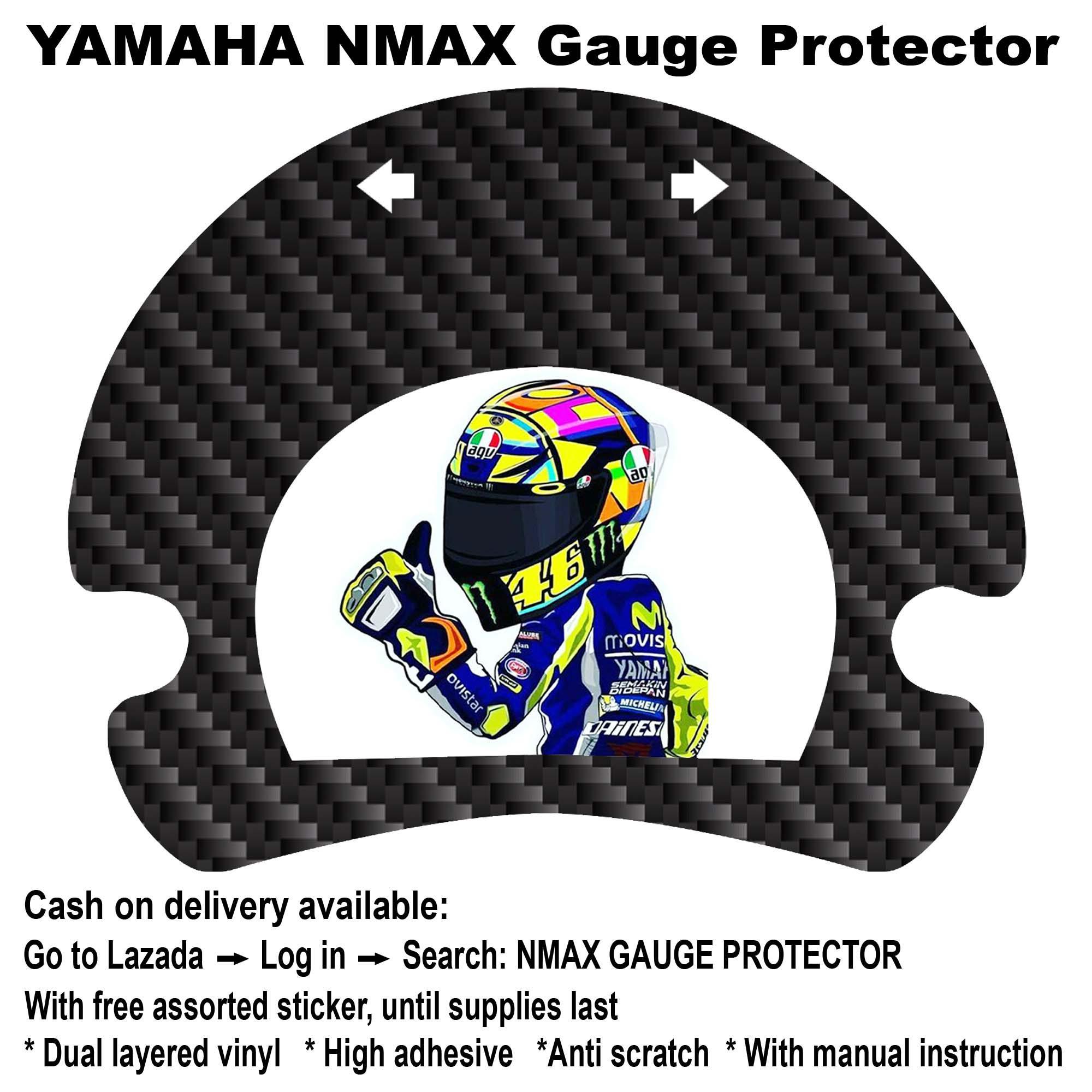 Nmax gauge protector rossi