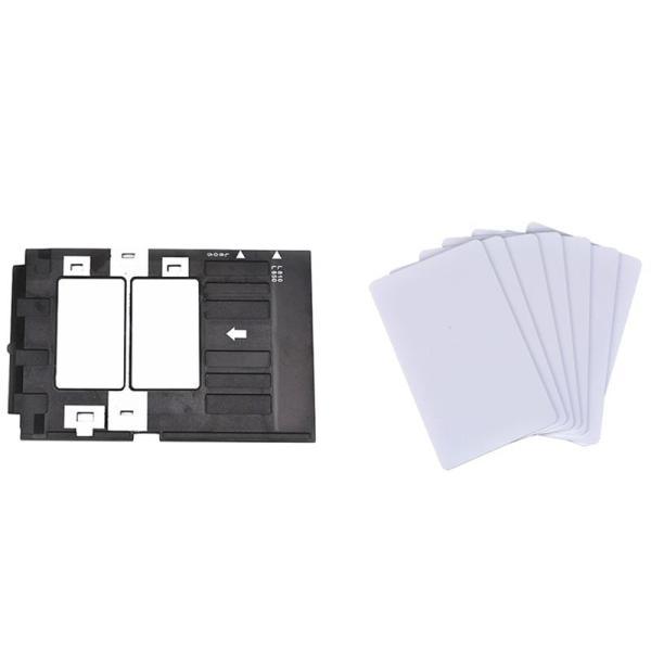 Giá PVC ID Card + 1Pc PVC ID Card Tray for Epson T50 T60 R260 R265 R270 R280 R290 R380 R390 RX680 A50 P50 L800 L801 R330 L850