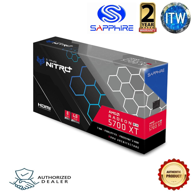 Sapphire Nitro Radeon Rx 5700 Xt 8gb Gddr6 Graphics Card Lazada Ph