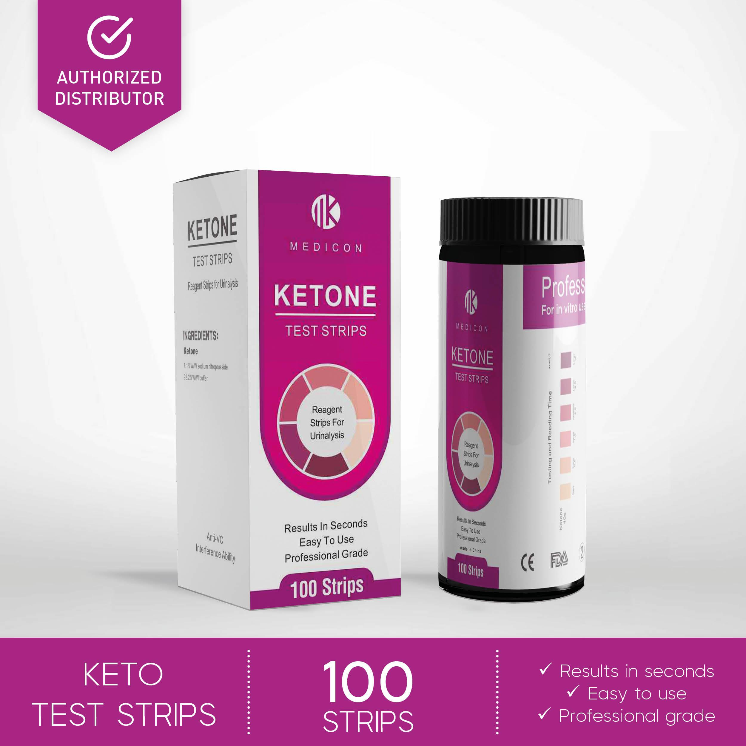 Ketone Test Strips 100s (Ideal for Keto Dieters)