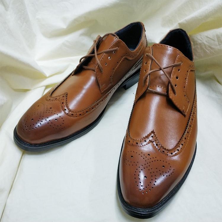 0eda7a4eefe Nobleman Men Fashion Black Brown Leather SHoes Korea Wild Style Work   school SHoes Lace
