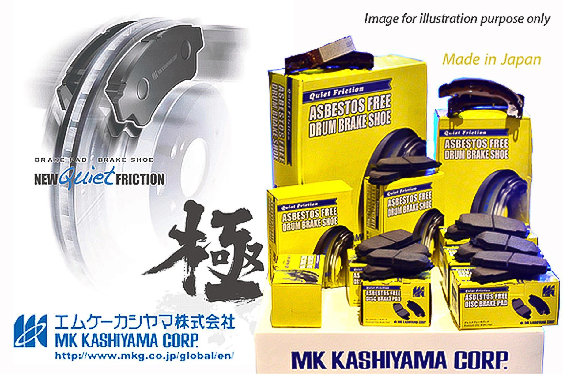 Front Rear Brake Ceramic Pads For 2012 13 14 15 2016 Honda CR-V Anti Noise