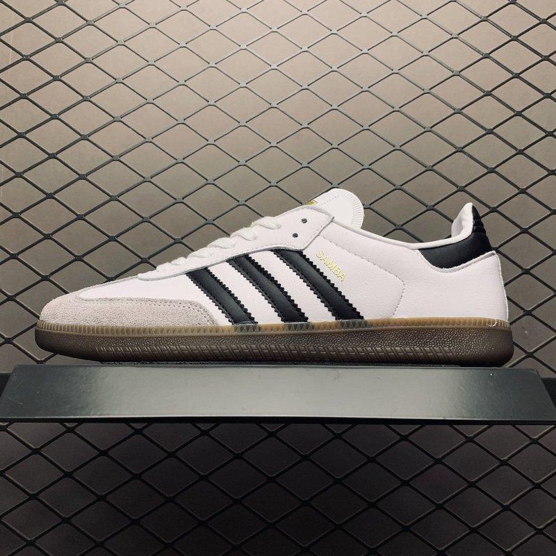 Adidas_Clover Men'S Shoes New Samba Og Classic White Black Sneakers Casual Shoes BB2540 Giá Tốt Không Thể Bỏ Qua