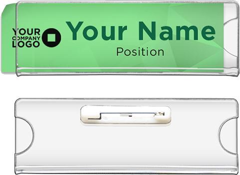 Insertable Acrylic Nameplate