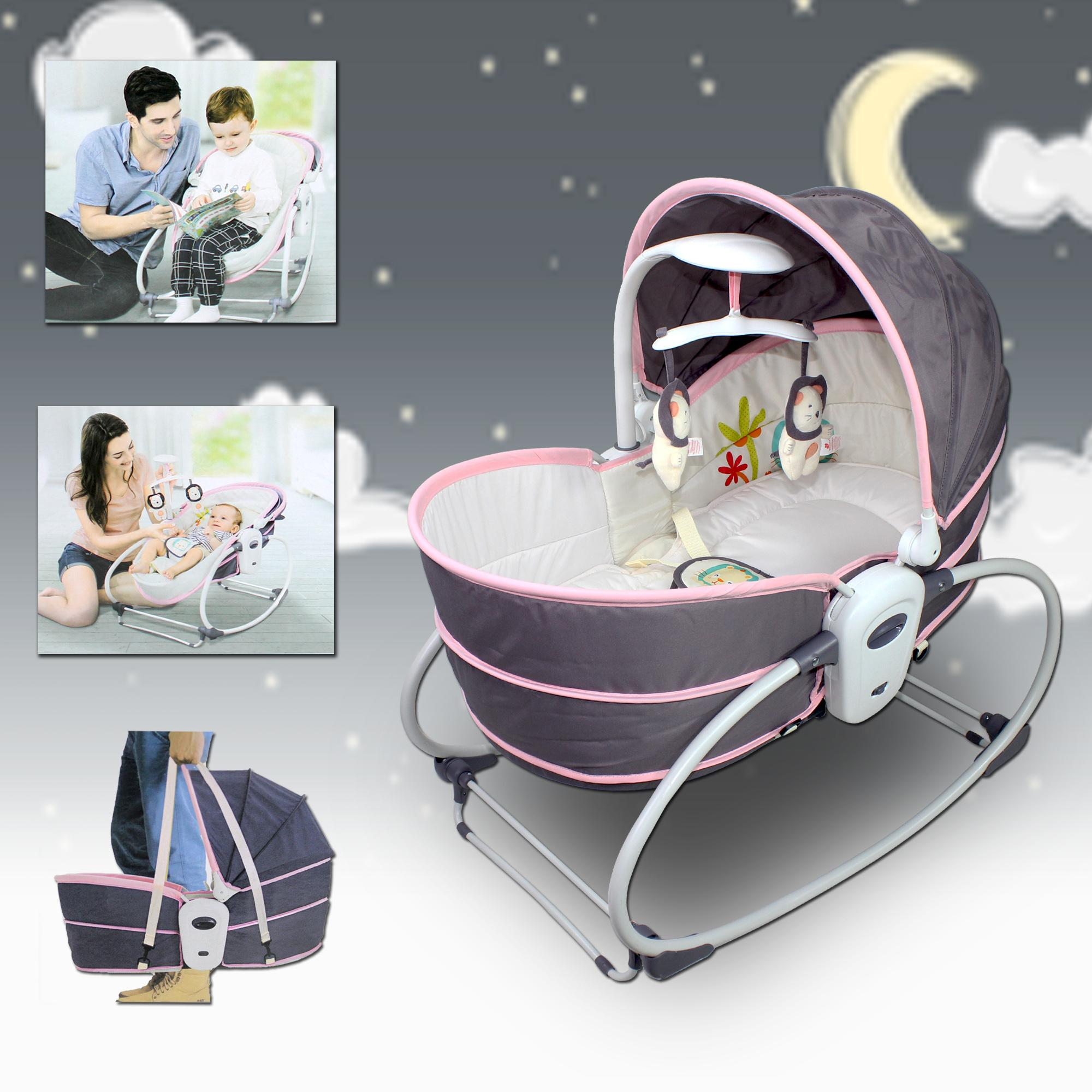 Mastela 5 in 1 Music and Melody with Soothing Vibration Bouncer ...