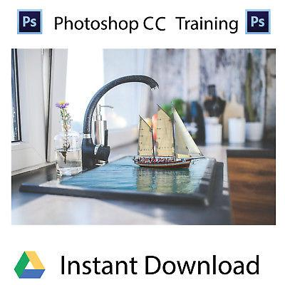 Adobe Photoshop Training Cc Professional Training Videos -Instant Download By Djshop15.