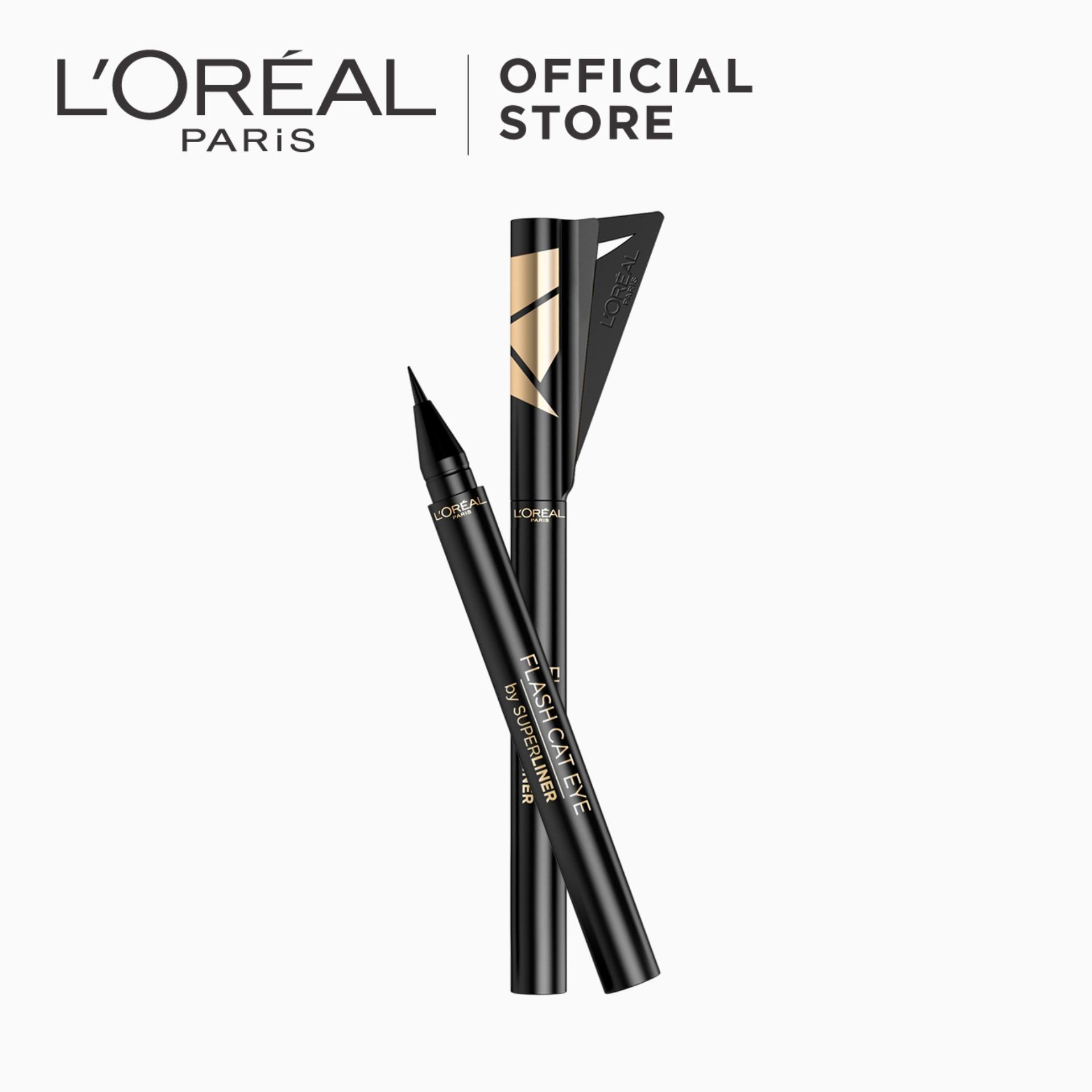 L Oreal Paris Super Liner Flash Cat Eye Black Perfect For Winged Look Makeup Lazada Ph