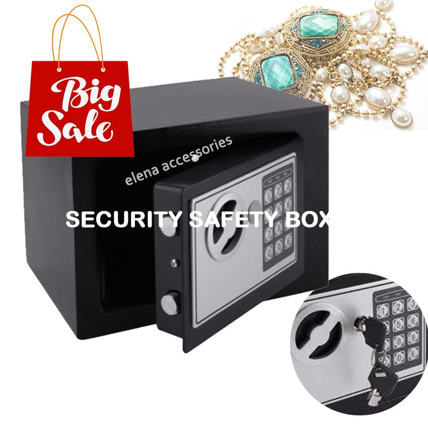 Home Safe Box Digital Secret At Fire Proof Ideal Guard Valuables While  Travel Storage Jewellery Gold