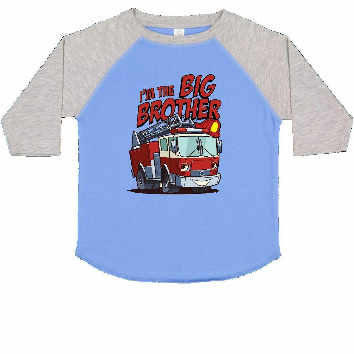 0a16319d Inktastic Big Brother Fire Truck Toddler T-Shirt Engine Tees. Gift Child Kid  | Lazada PH
