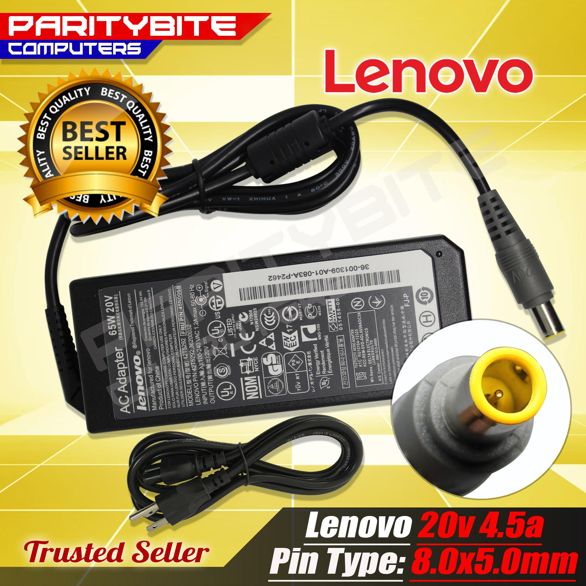 Lenovo Charger Adapter 20V 4 5A 8 0mmx5 0mm For Lenovo ThinkPad 417032U  SL300 SL400 SL410 SL410k SL500 SL510 SL510k T400 T400s T410 T410i T410s  T420