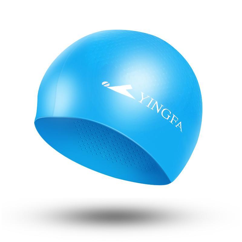 Yingfa Topi renang yingfa pria dan wanita penggunaan umum rambut panjang  Silikon Granul Anti Selip Profesional b803e6a0da