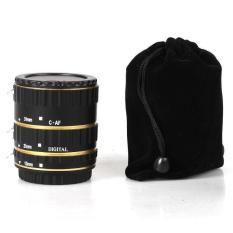 Kim Loại Gắn Bộ Chuyển Đổi Ống Kính Lấy Nét Tự Động AF Ống Macro Nhẫn dành cho Canon EOS EF-S Ống Kính 750D 80D 7D T6s 60D 7D 550D 5D Mark IV