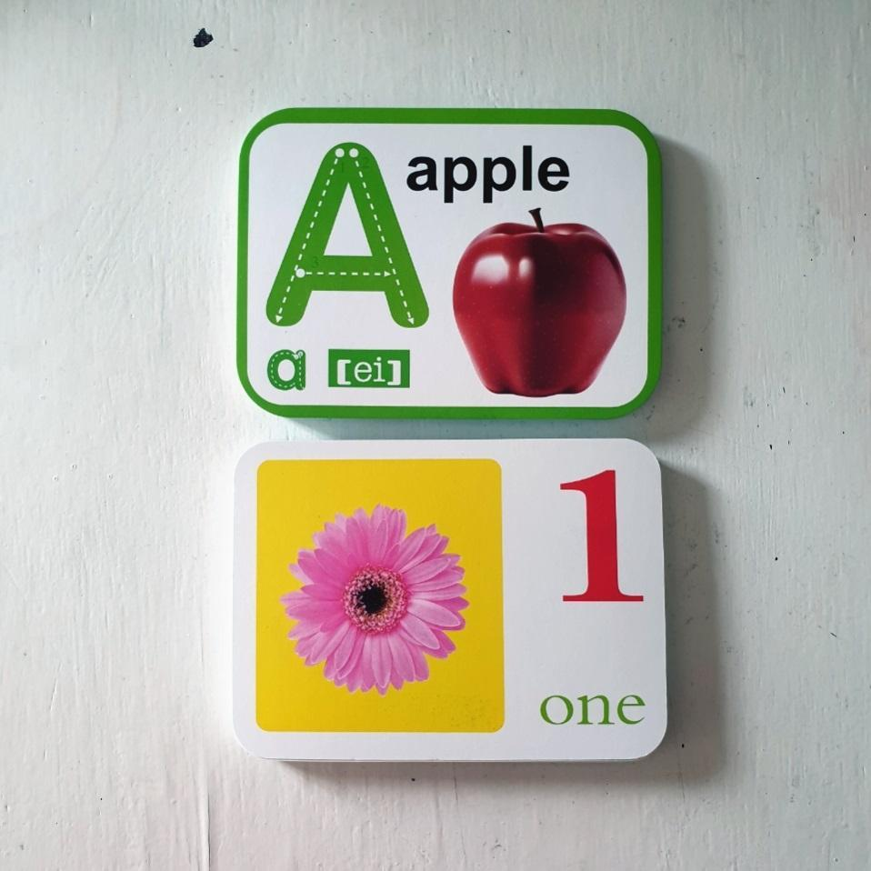 Alphabet and Numbers Flash Cards for Kids Early Learning SET