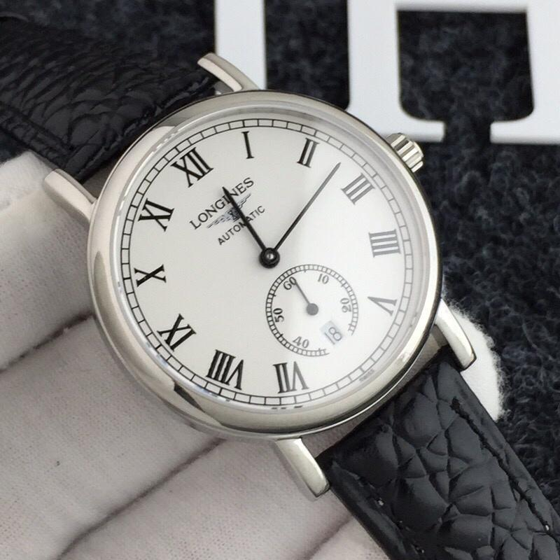 Authentic Hot Sale Longines_ Watch for Men -Melly Series Mens Fashion Automatic Mechanical Movement Watch Steel Chain Belt Watch. Malaysia