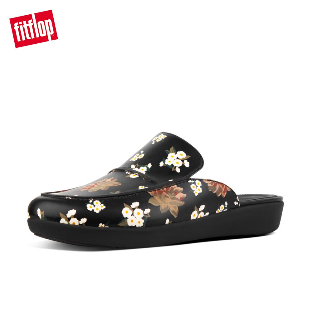 9e1335c0a11200 Fitflop Women s Shoes O40 Serene Dark Floral Cushioned Everyday Fashion  Comfort