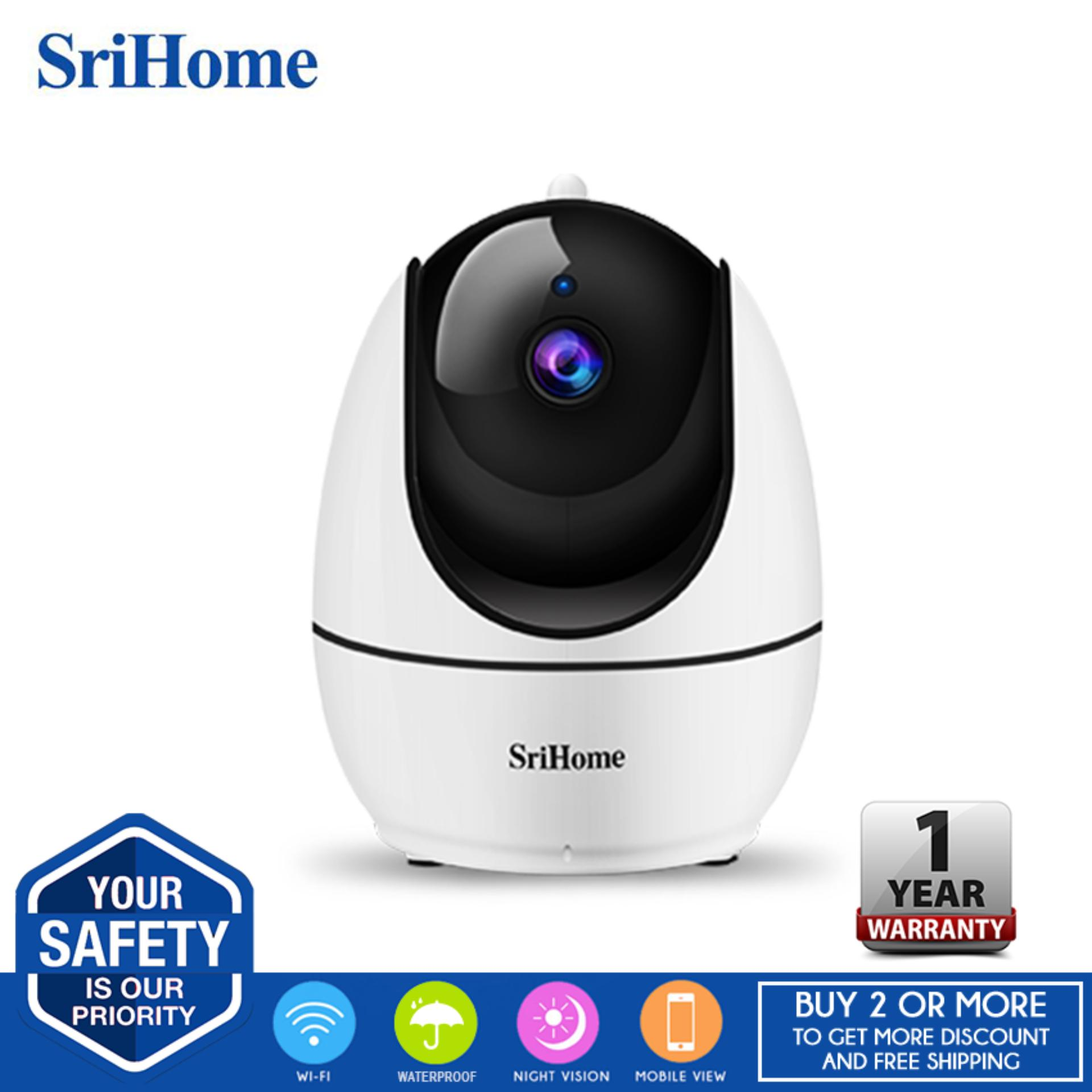 Sricam SriHome SH026 Wi-Fi H265 1080P Two-Way Audio Night Vision AP Hotspot  Connection Indoor CCTV IP Camera