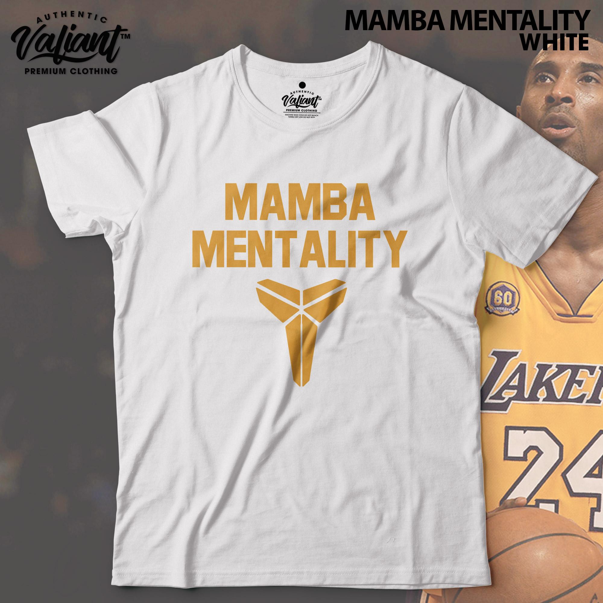 mamba mentality t shirt