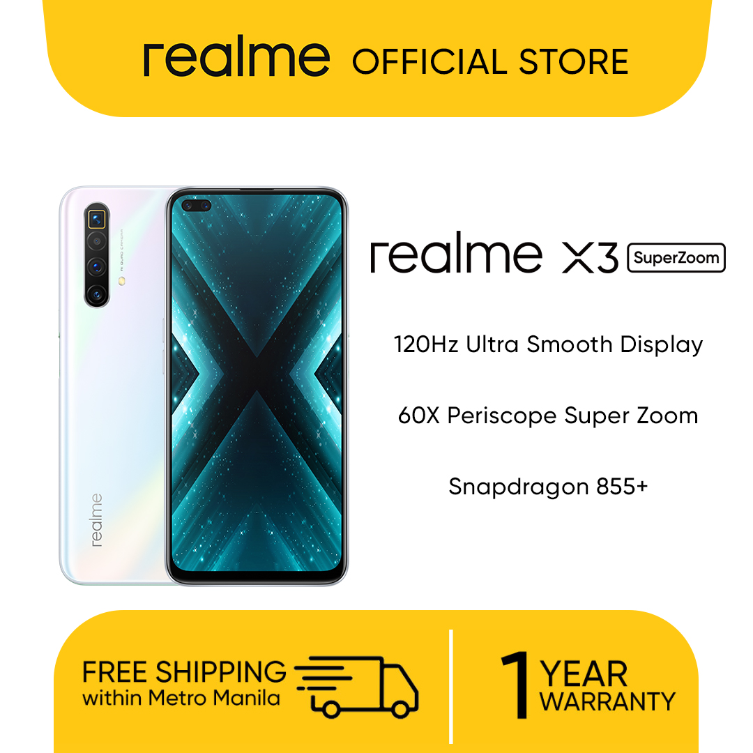 Realme X3 Superzoom Freebie Realme Buds Air Worth Php 3990