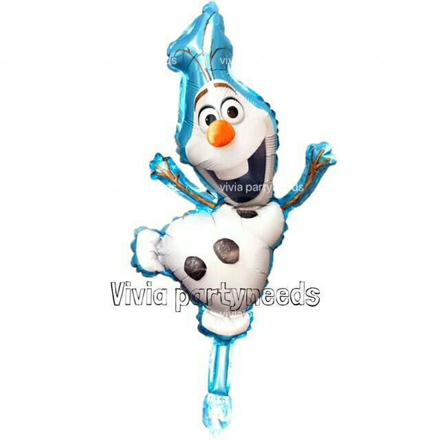 14inches Frozen Olaf Mini Foil Balloon By Ah K Asta Store.